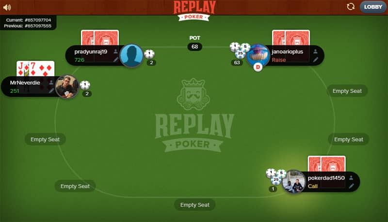 replay poker chips