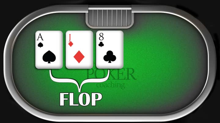 texas holdem rules - flop