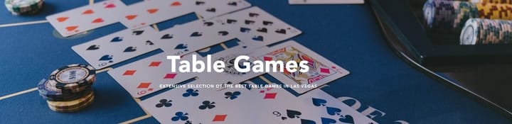 Venetian casino table games