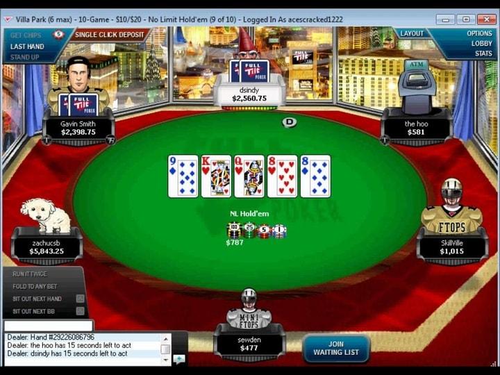 full tilt poker rise