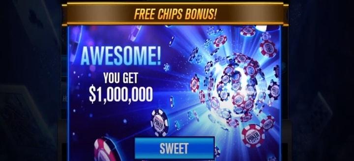 1 million wsop free chips