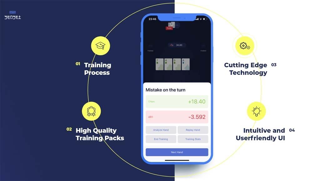 GTO-Sensei mobile app