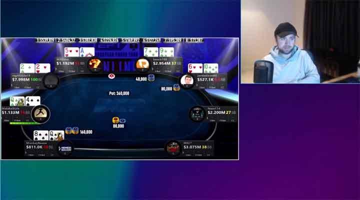 ICM poker Collision Effect