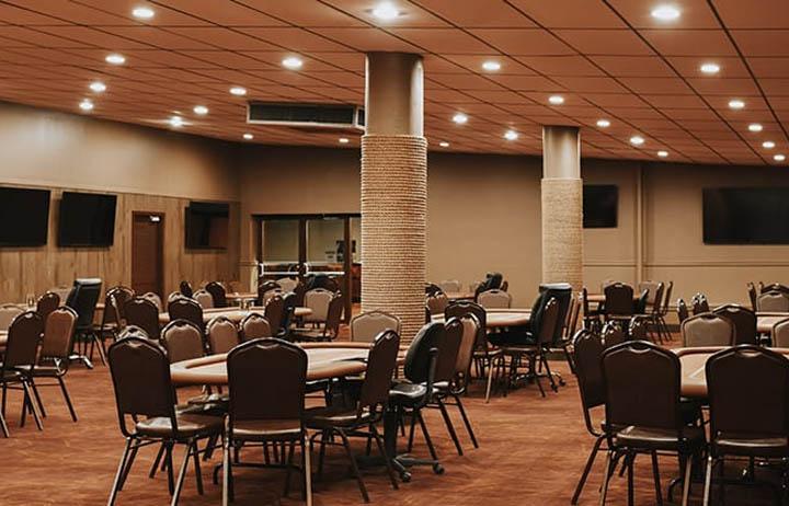 Brook Poker Room Layout