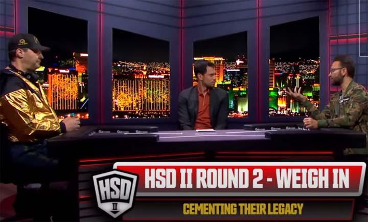 Hellmuth Negreanu Round 2 Prematch Interview