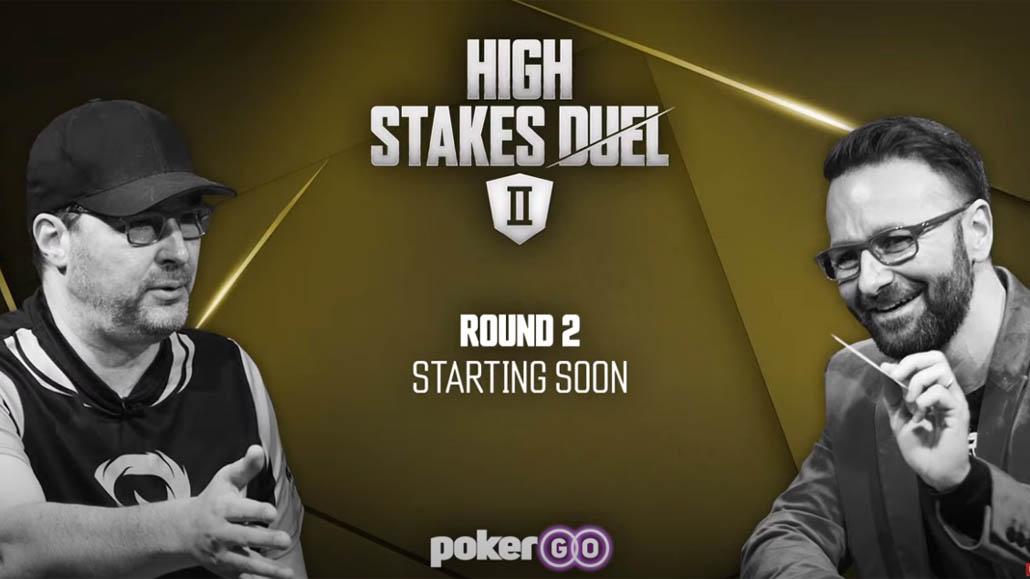 Hellmuth Wins Round 2 vs Negreanu