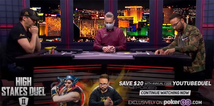 Hellmuth and Negreanu Battling It Out