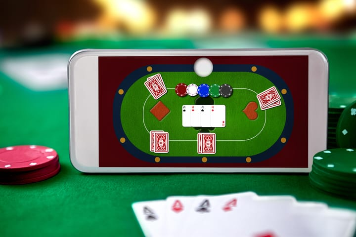 Play online poker with friends