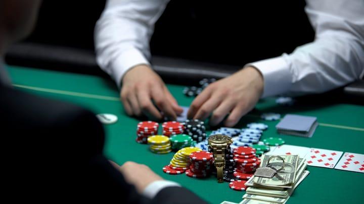Poker allin