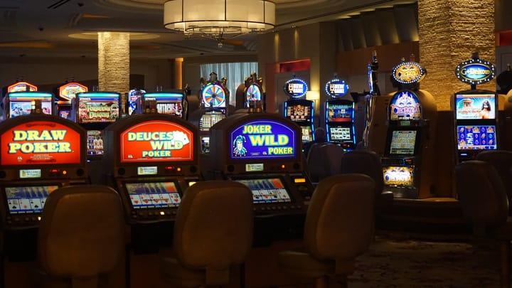 Regular slots in land-based casinos