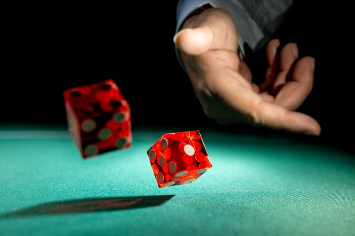 Strategy for craps