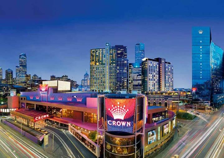 World's largest casinos - Crown Casino Melbourne