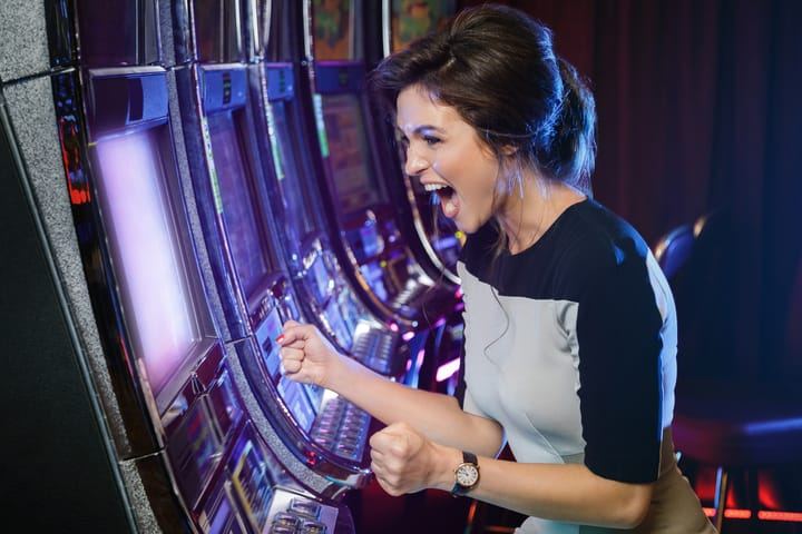 Major jackpots won on slots