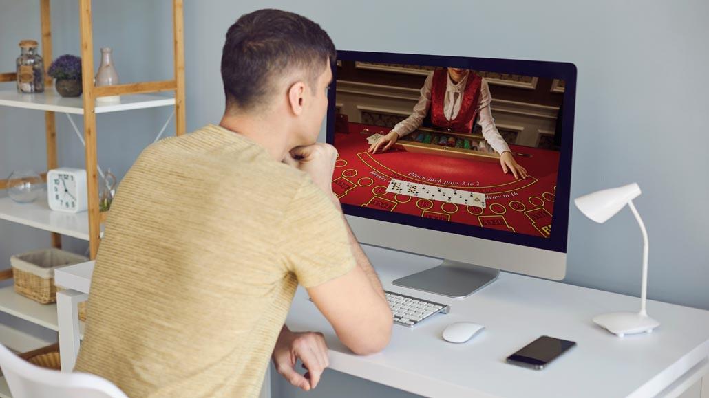Online casino design features