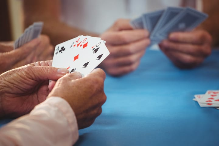 Play rummy with your friends