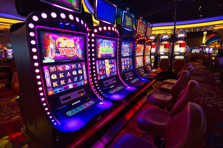 Slot machine terms - scatters