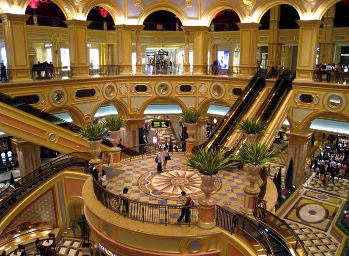 Venetian Macau - one of the largest world's casinos