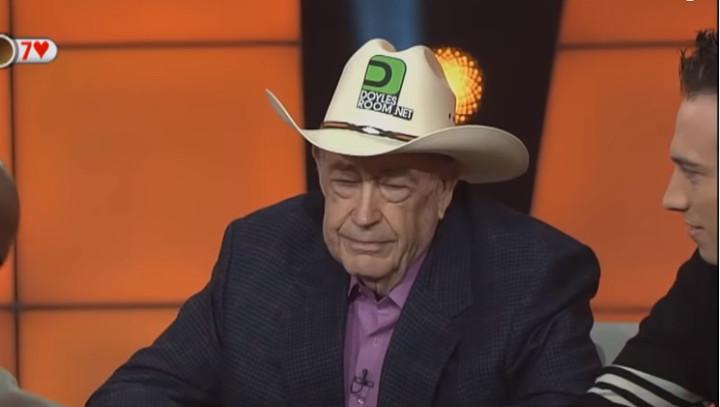 Doyle Brunson poker journey