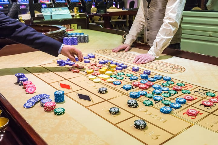 Poker and other casino games