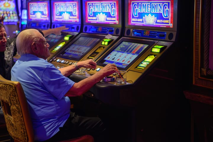 Popularity of video poker grew over time
