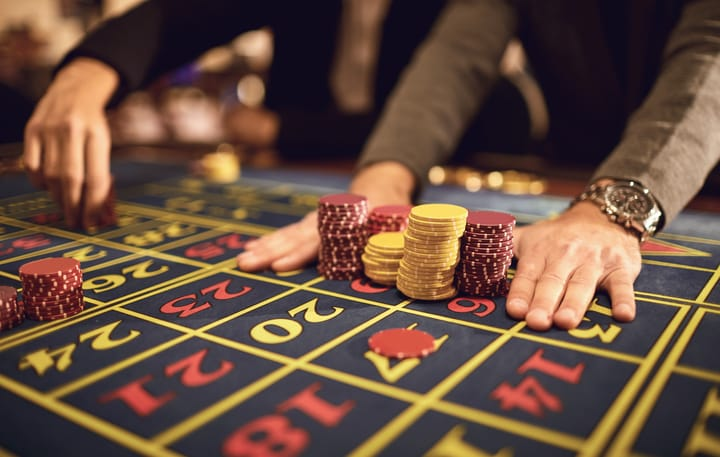Stay clear-minded when playing roulette