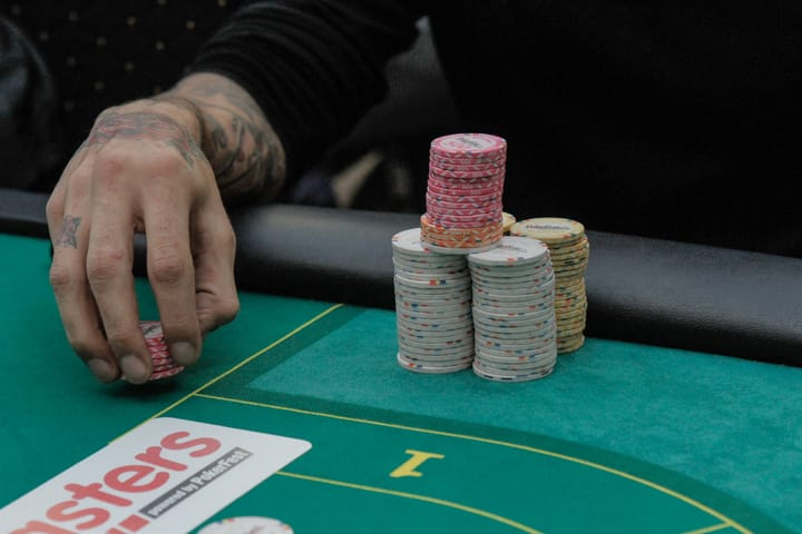 Threat of poker bluff is a powerful weapon
