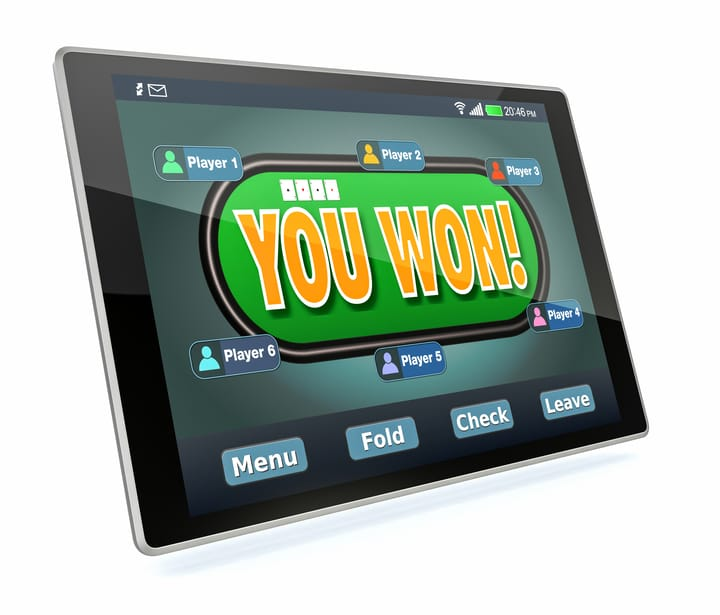 You cant win real money with play money poker