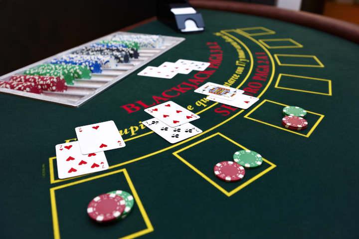 Blackjack betting system