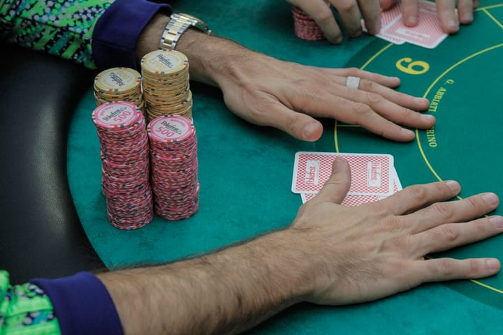 Should you play poker on a stake