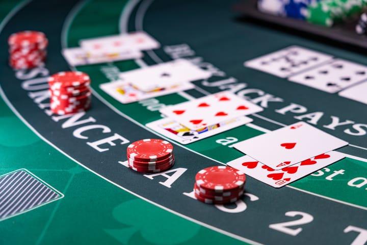 gandakan dalam blackjack