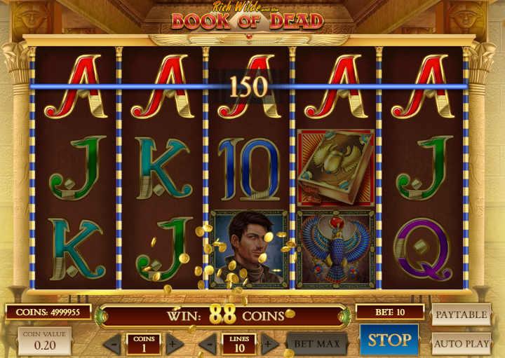 Book of Dead casino slot
