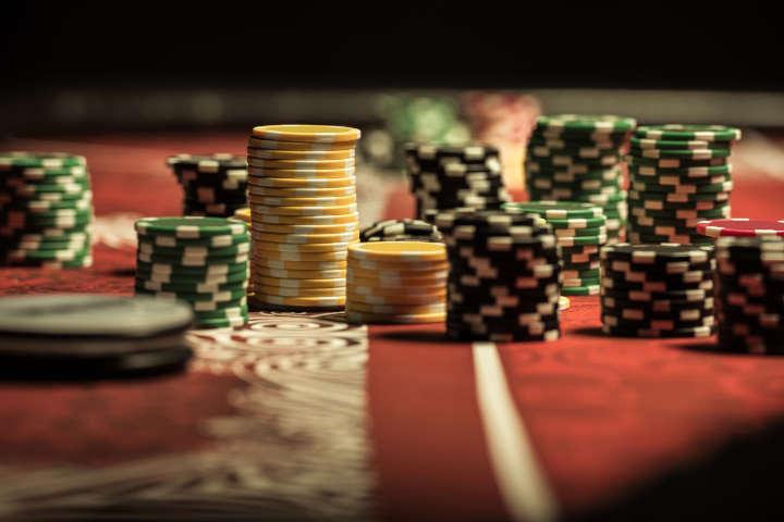 Chip poker palsu Christian Lusardi