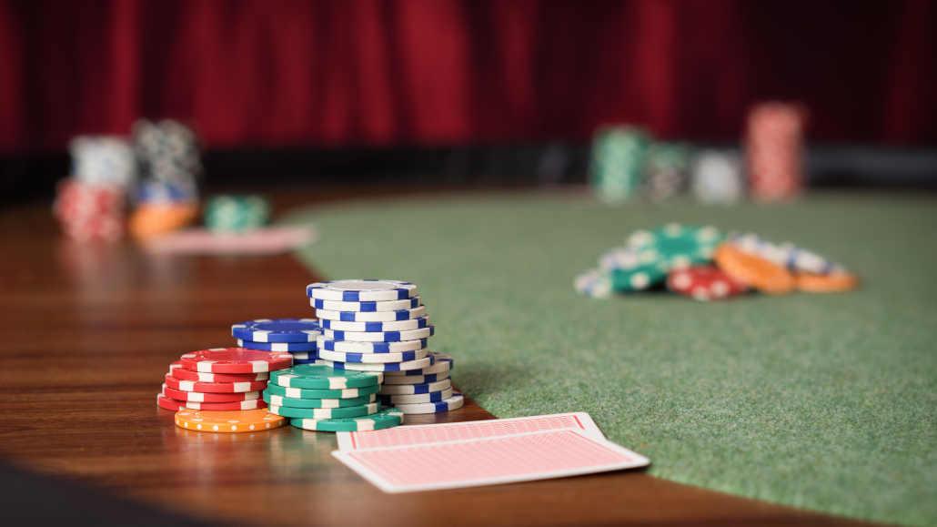 Folding poker tables