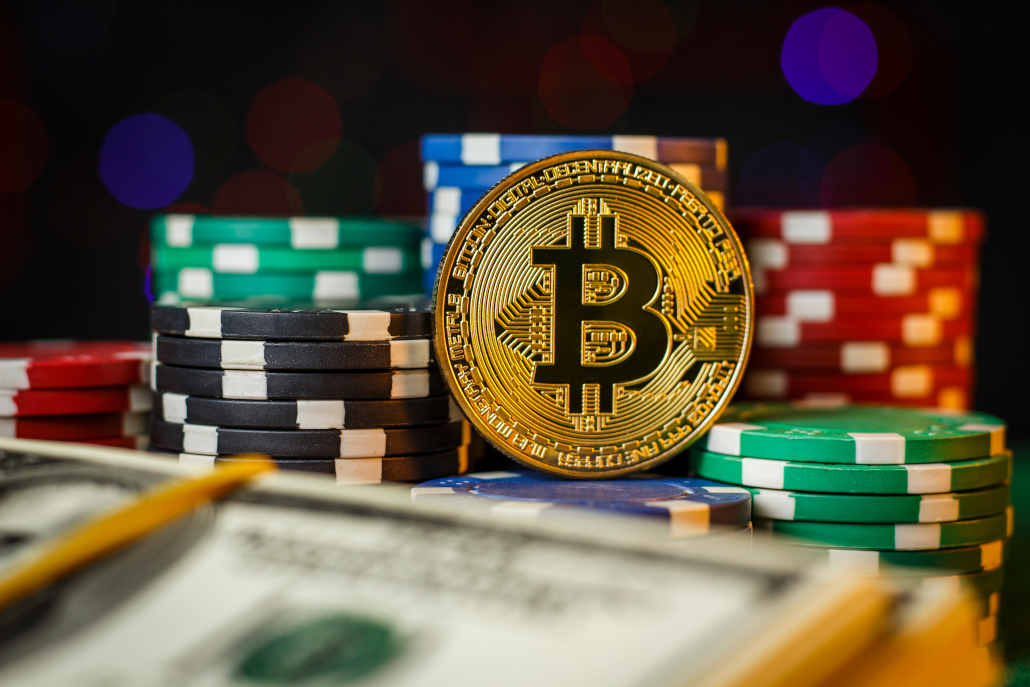 Playing bitcoin online poker