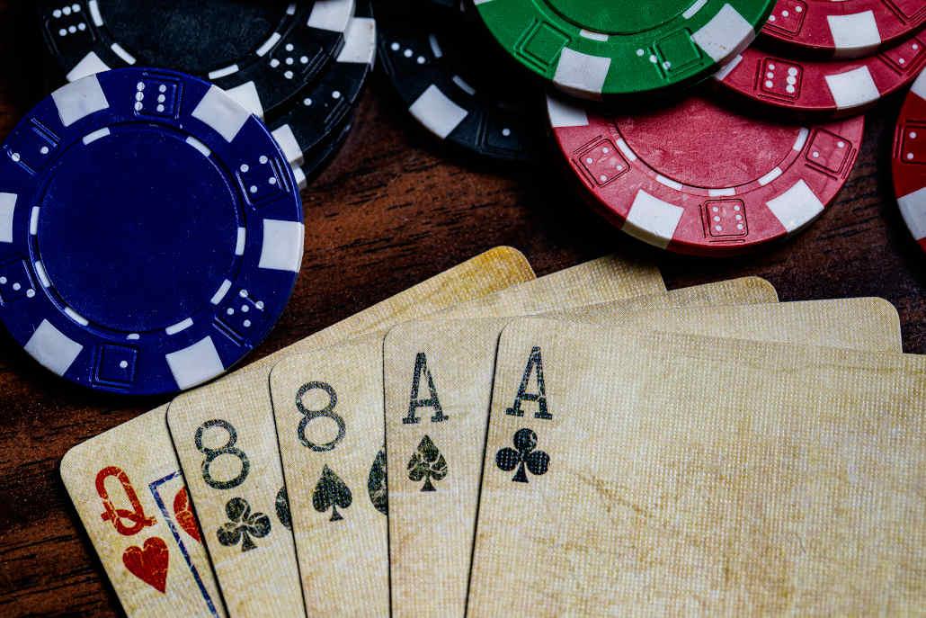 Poker card games - 5 Card Stud