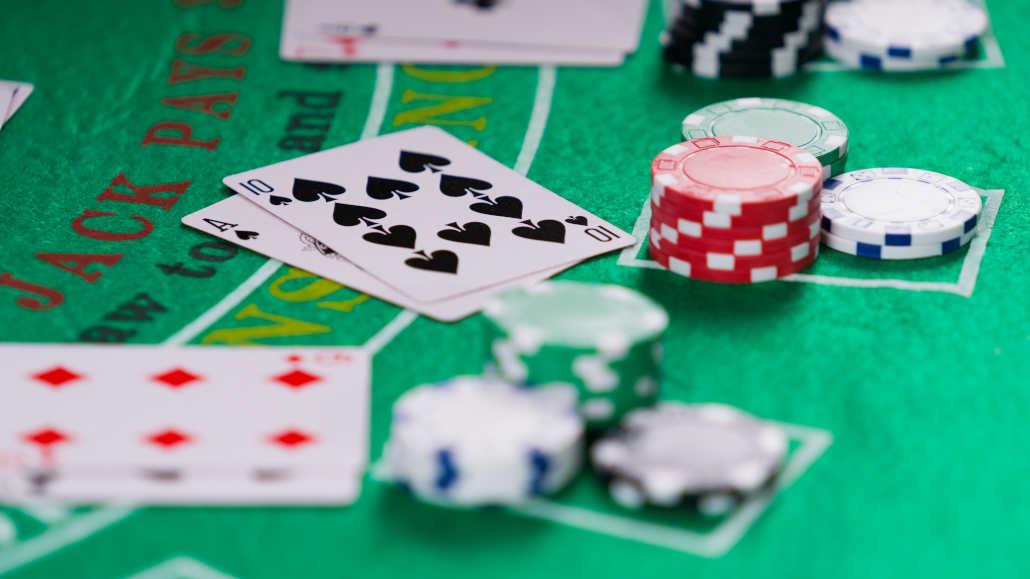 Menyerah dalam blackjack