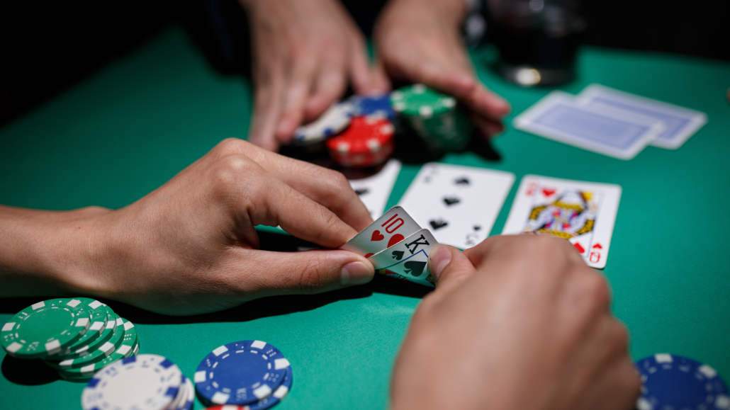 Video games featuring poker