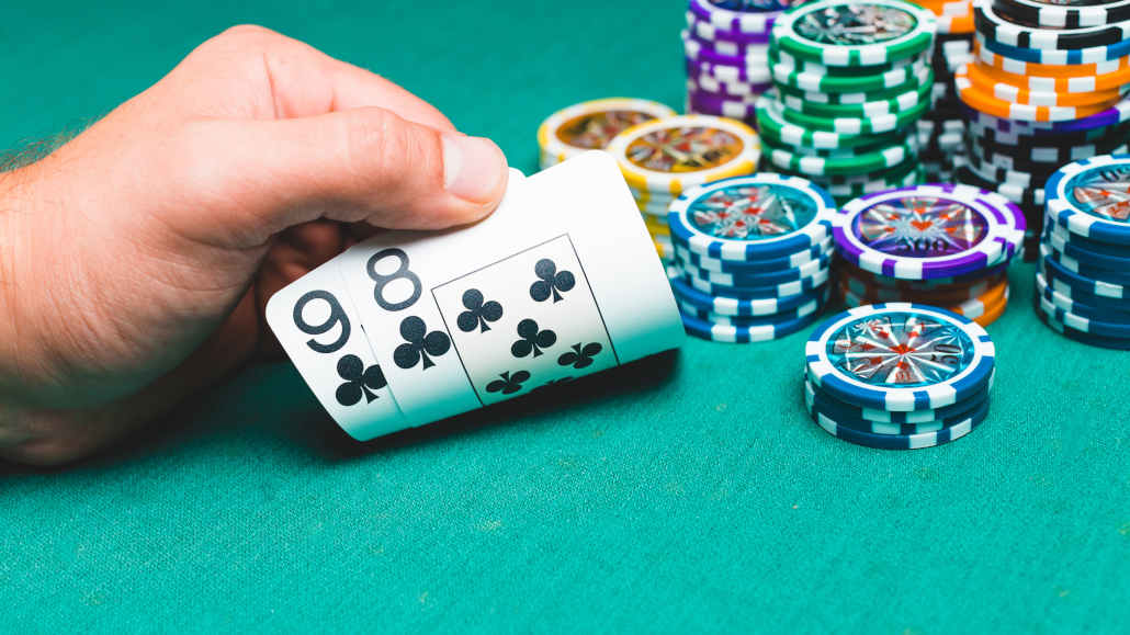 Deep stack poker strategy