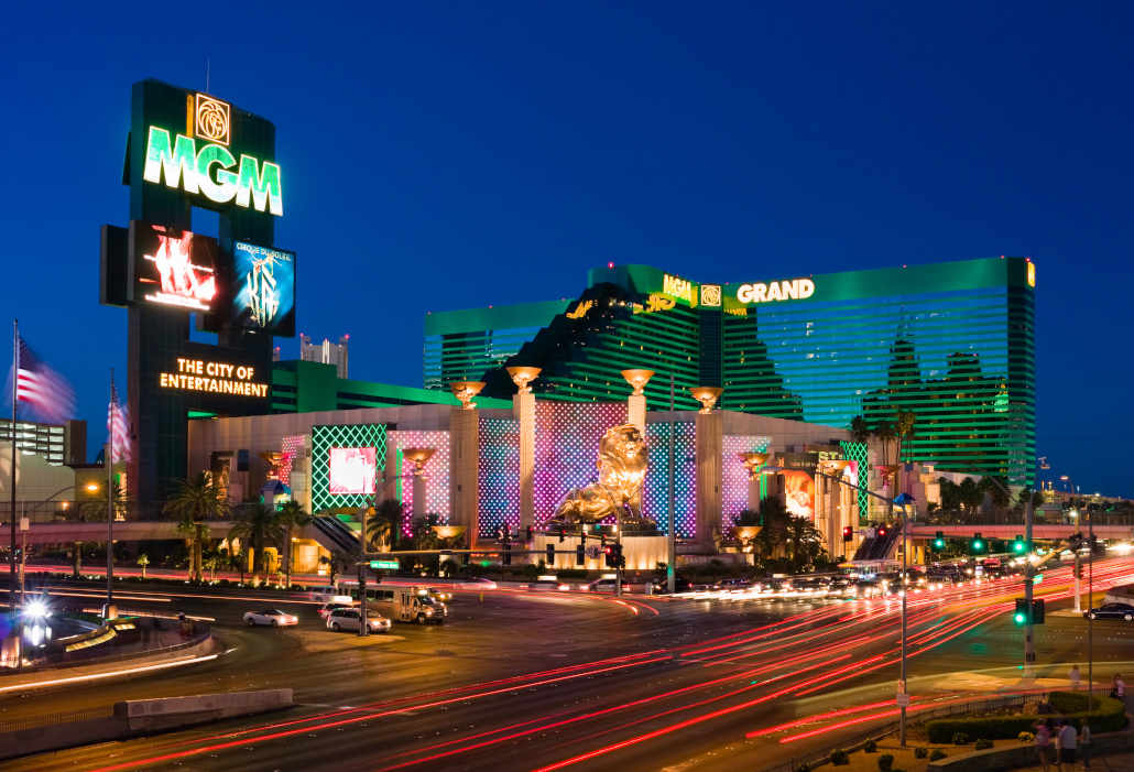 MGM Grand - one of top venues on Las Vegas casino list